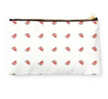 seamless pattern made of scattered decorative watermelon watercolor Studio Pouch