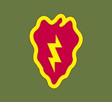 25th Infantry Division (United States) by wordwidesymbols