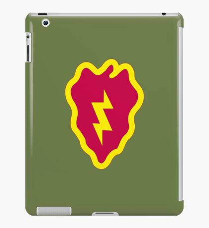 25th Infantry Division (United States) iPad Case/Skin