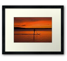 Northport Bay Framed Print