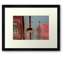 Eye Infection Framed Print