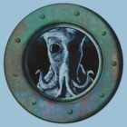 Creature at the Porthole by Lloyd Harvey