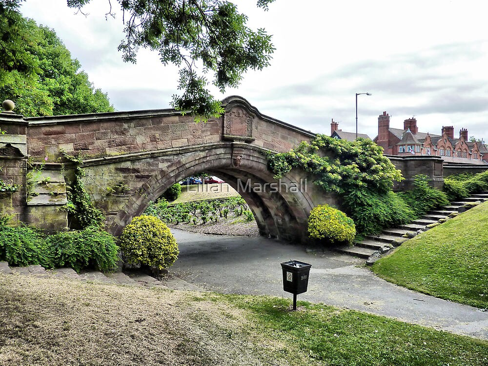 Dell Bridge . by Lilian Marshall