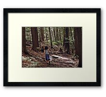 With the Eyes of a Child Framed Print