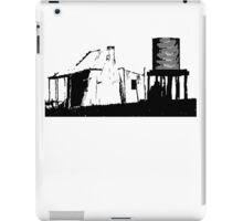 Shearers Shed Black iPad Case/Skin