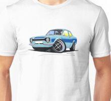 Ford Escort (Mk1) RS2000 LBlue Unisex T-Shirt