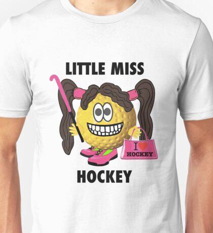 Little Miss Hockey Unisex T-Shirt