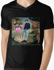 Birth of Jisus Mens V-Neck T-Shirt