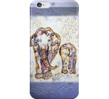 Elephant Mom iPhone Case/Skin