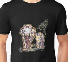 Elephant Mom Unisex T-Shirt