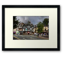 A corner in Bowness Framed Print