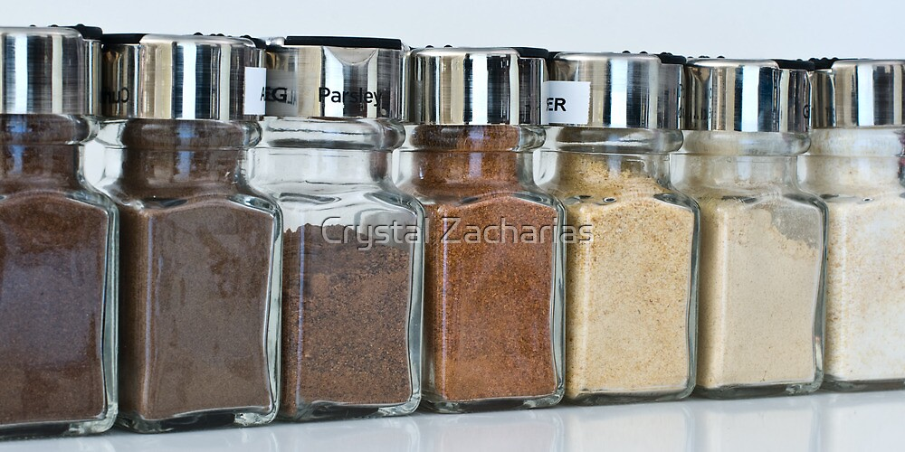 Rainbow of Spices by Crystal Zacharias