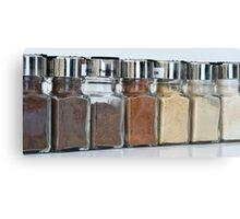 Rainbow of Spices Canvas Print