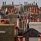 Chimney pots by Kevin  Poulton