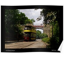 Chesterfield No.7 - Crich Tramway Museum Poster