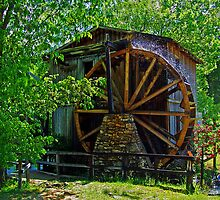 The Olde Waterwheel by Susan Blevins