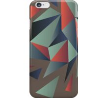 Abstract polygonal pattern iPhone Case/Skin