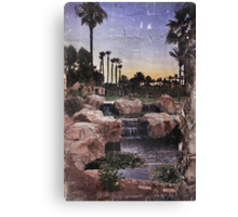 Those Summer Nights Canvas Print
