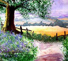 The Path by Angela  Burman