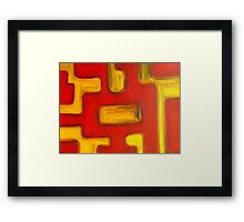 ABSTRACT 446 Framed Print