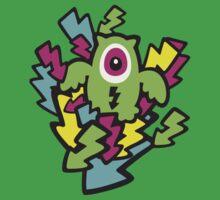 Neon Mutant Owls Kids Clothes