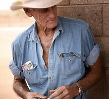 Nullarbor Cowboy by Greg  Barton