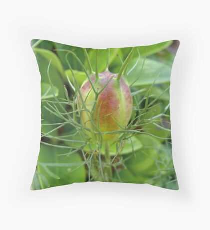 A big bud Throw Pillow