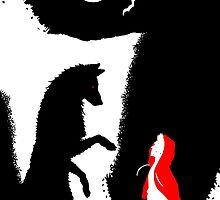 Stiles red hood by Weirdofox