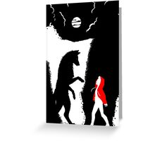 Stiles red hood Greeting Card