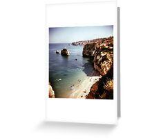 Lagos beach Greeting Card