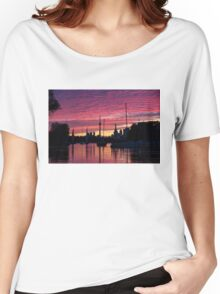 Of Yachts and Skylines Women's Relaxed Fit T-Shirt