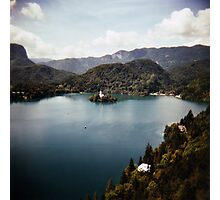 Bled, slovenia Photographic Print