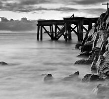 Port Elliot Morning (b&w) by Craig Hender