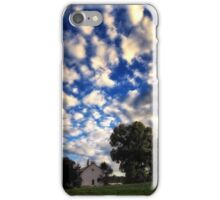Blue Sky and White Cloud Day iPhone Case/Skin