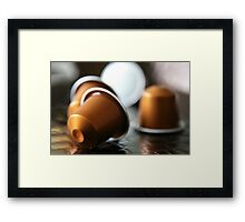 Coffee addict ... Framed Print