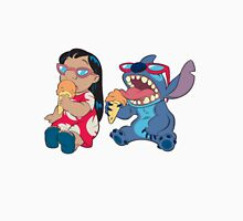 Lilo and Stitch eating T-Shirt