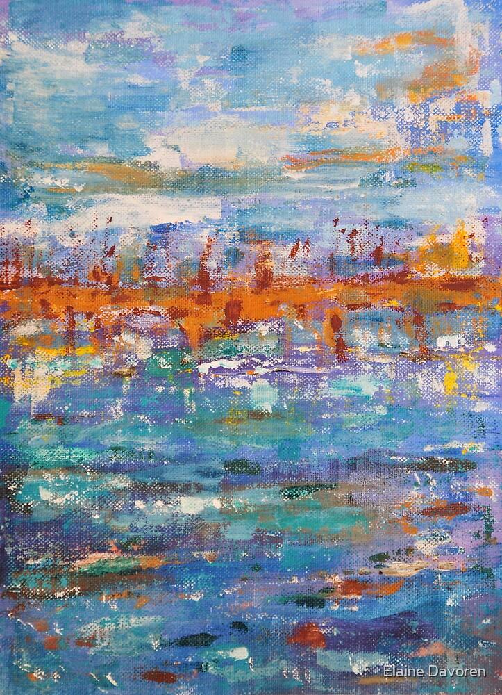 Coral inlet by Elaine Davoren