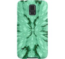 Green Burst Samsung Galaxy Case/Skin