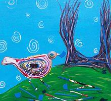 Bower Bird by Deborah  Leventhal