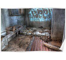 As I Lay Me Down To Sleep....Abandoned Mental Asylum, Wacol Brisbane, Poster