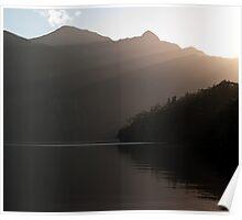 Sunrays over Doubtful Sound  Poster