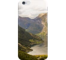 Geiranger view iPhone Case/Skin