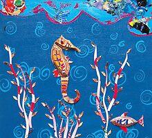 Seahorse by Deborah  Leventhal