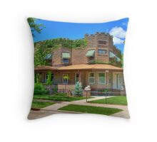 A Mans House is His Castle Throw Pillow