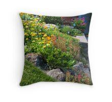 A Jam-Packed Garden of Fun Throw Pillow