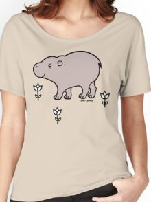 Pygmy Hippo Women's Relaxed Fit T-Shirt