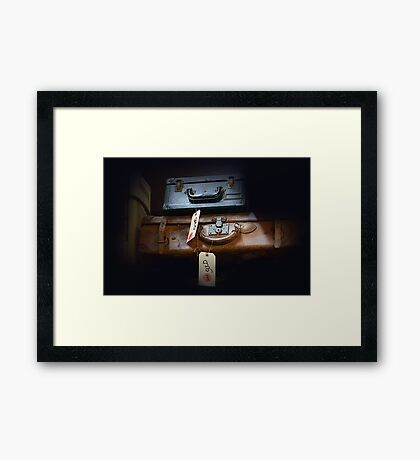Mystery Contents Framed Print
