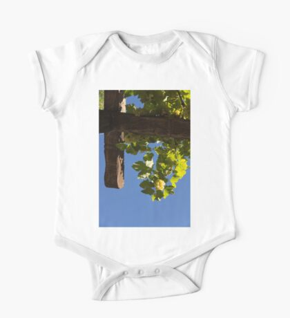 Harvest in the Sky - a Vertical View One Piece - Short Sleeve