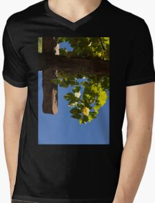 Harvest in the Sky - a Vertical View Mens V-Neck T-Shirt