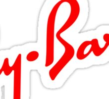 Ray Barber Red Sticker